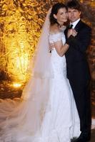 свадебное платье Кэти Холмс