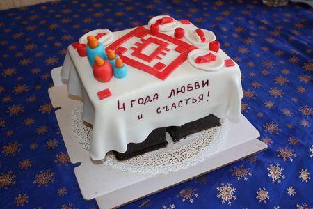 Торт на годовщину свадьбы мужу