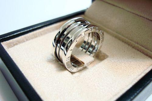 мужские кольца белого золота