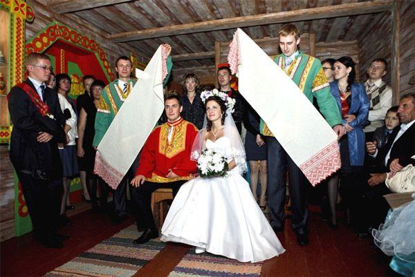 Свадьба русская народная