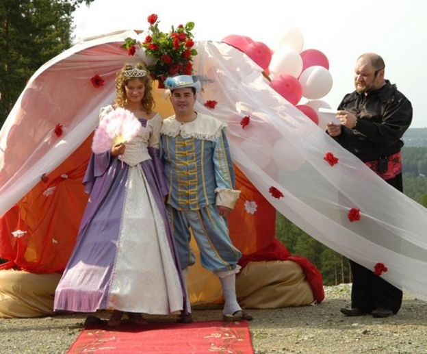 Сценарий - Сказочная свадьба